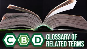 A Glossary of CBD Related Terms