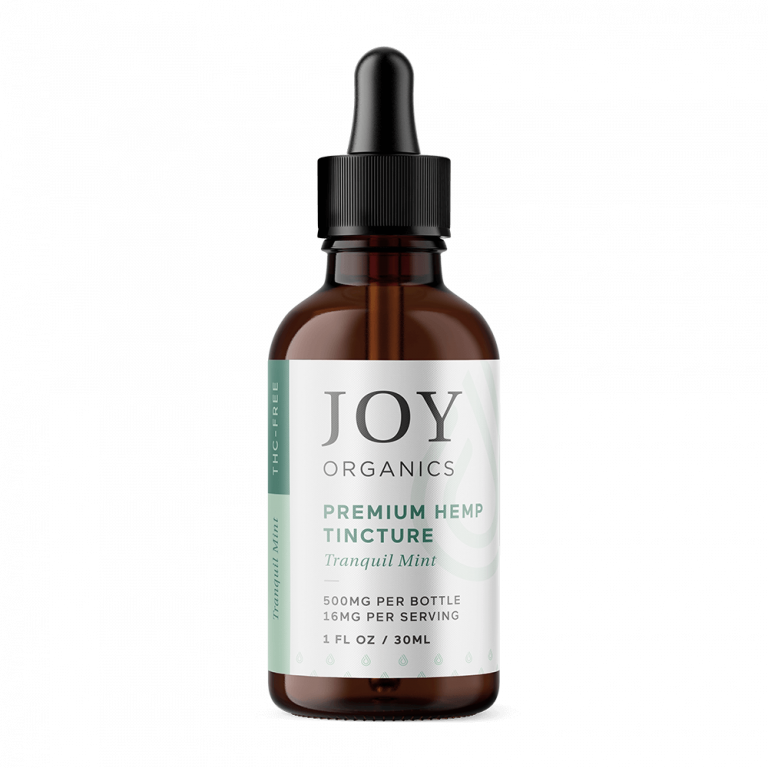 Joy Organics Hemp Extract CBD Oil