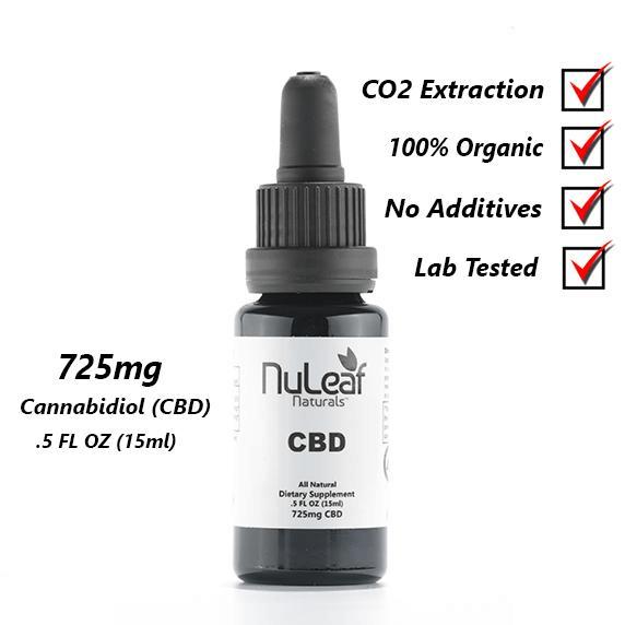 Nuleaf Naturals Hemp Extract CBD Oil