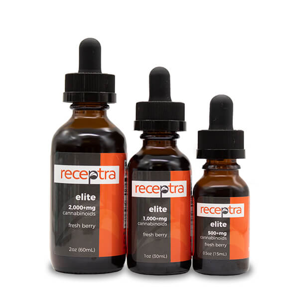 Receptra Elite Hemp Extract CBD Oil