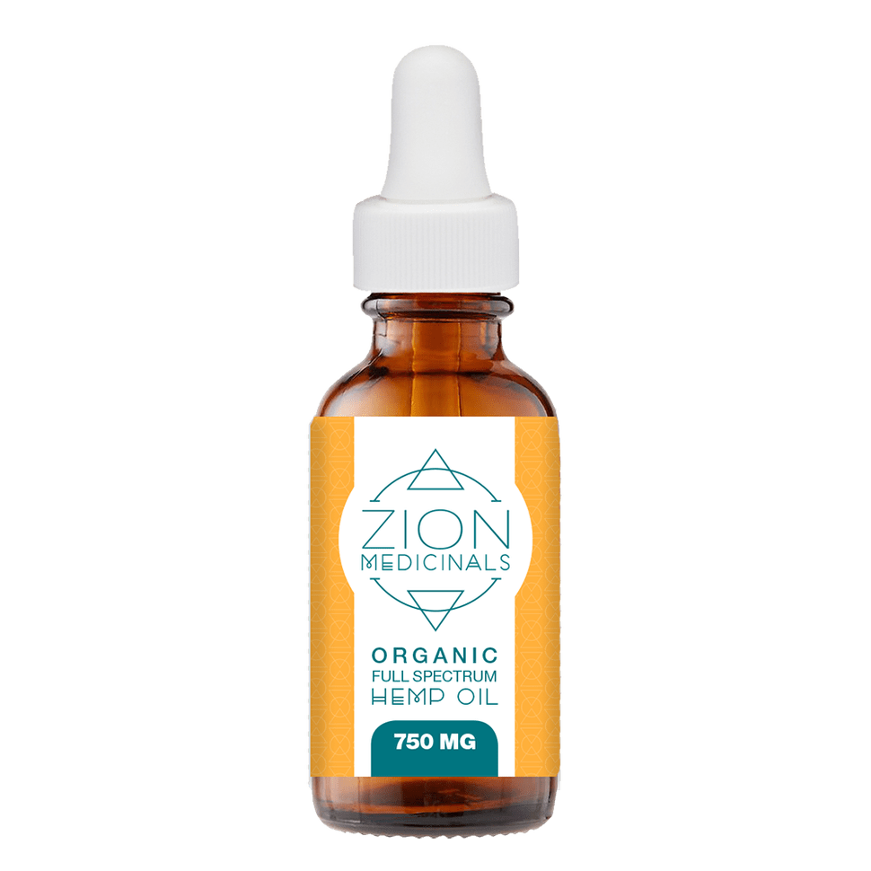 Zion Medicinals Hemp Extract CBD Oil